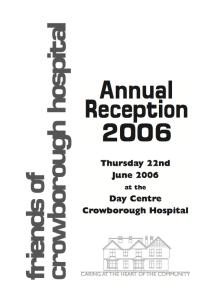 AGM Report 2006