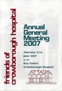 AGM Report 2007