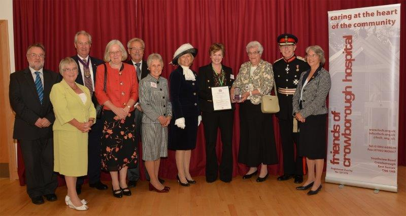Presentation of the Queen's Award for Voluntary Service